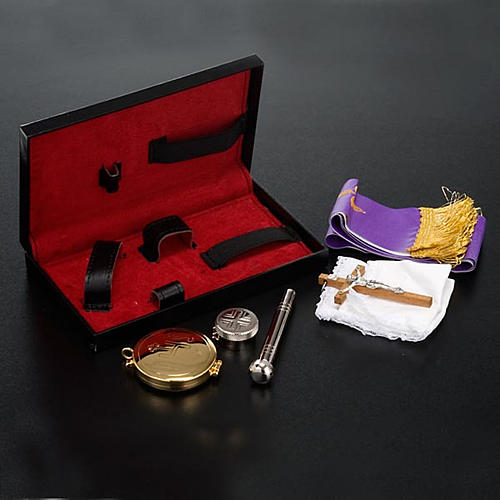 Sick call kit leather case magnetic closure 2