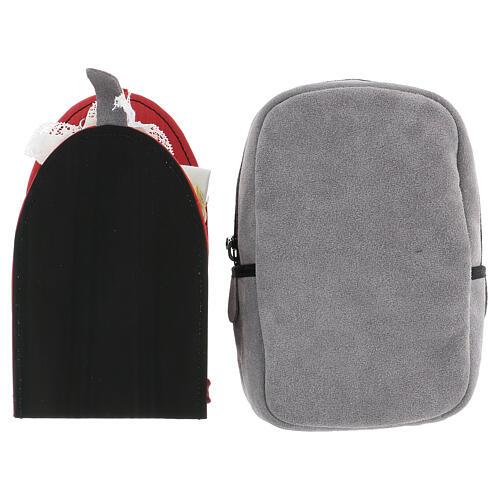 Mini borsello scamosciato per celebrazioni 15