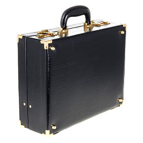 Case for travelling mass kits, empty with blue satin insides s5
