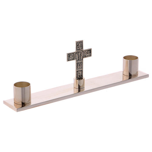 Service de messe valise chapelle objets laiton argenté Molina 4