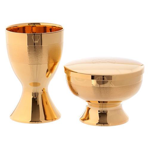 Maleta con artículos para celebración latón dorado Molina 2
