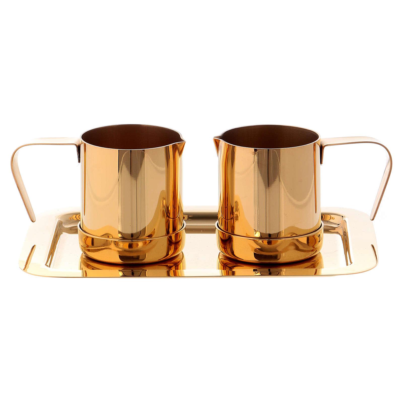 Valigetta per celebrazioni oggetti ottone dorato Molina 3