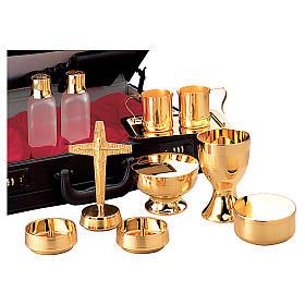 Valigetta per celebrazioni oggetti ottone dorato Molina s1