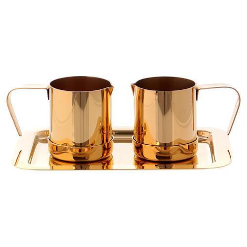 Valigetta per celebrazioni oggetti ottone dorato Molina 5