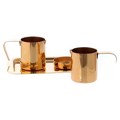Valigetta per celebrazioni oggetti ottone dorato Molina 6