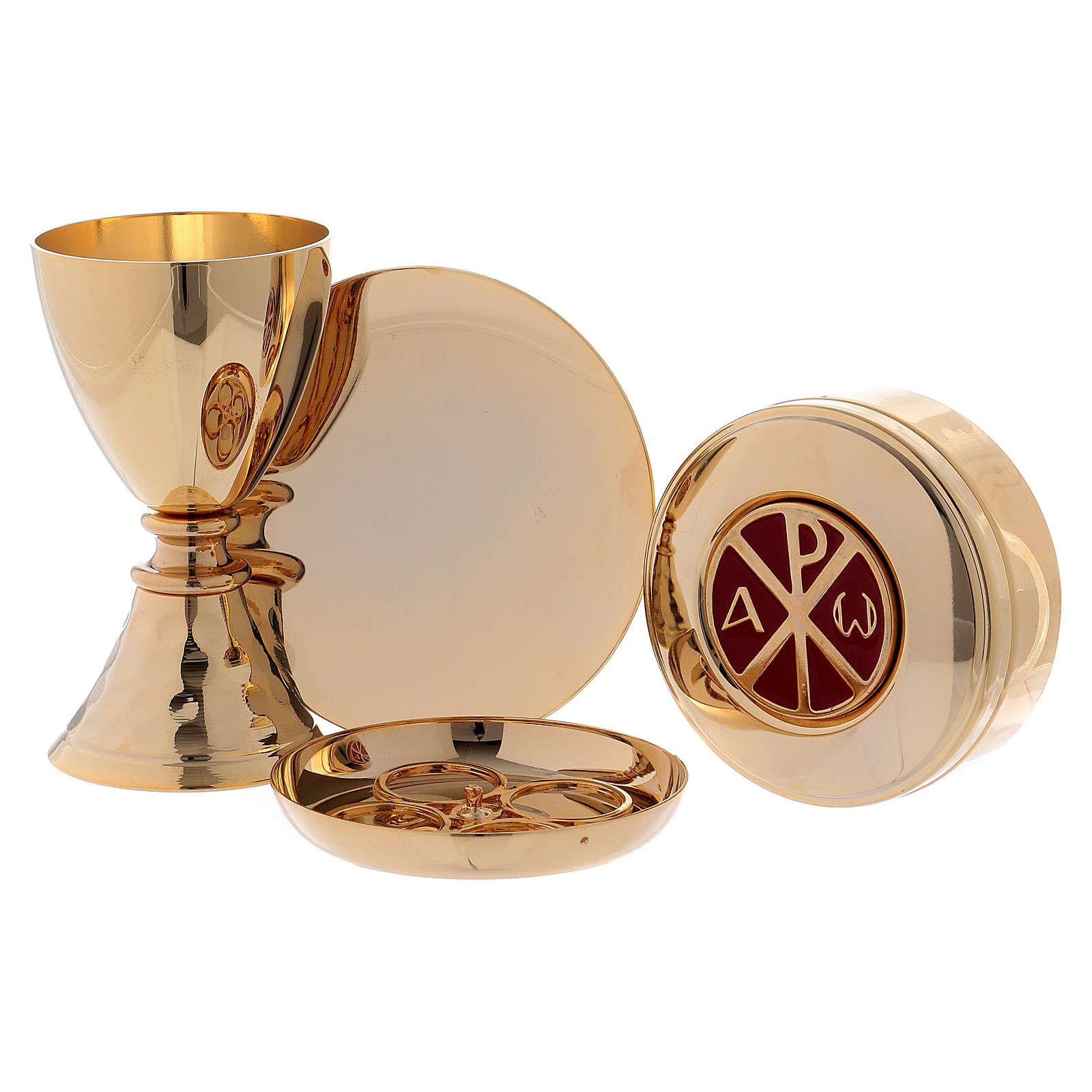 Valise-chapelle pour célébrations en cuir véritable et satin 3