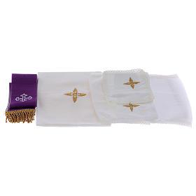 Priester Messkoffer aus ABS und roten Satin Futter s8