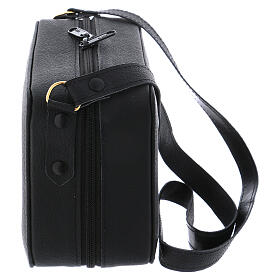 Mass kit with leather bag, lined with grey fabric s8