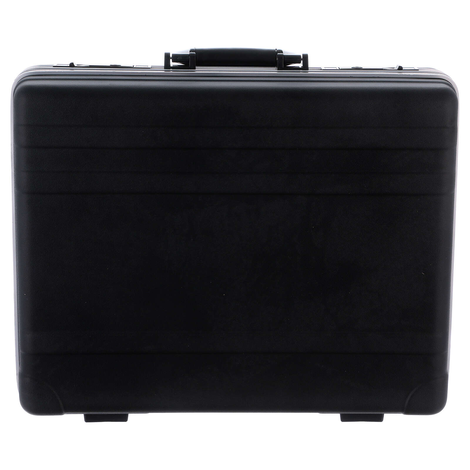 Mass kit with suitcase in plastic and metal, lined with red satin 3
