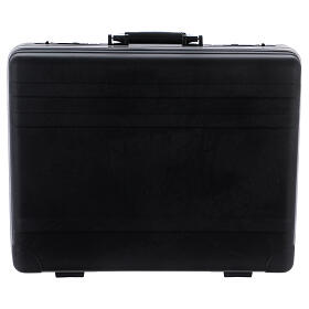 Plastic briefcase with mass kit red satin lining and Last Supper image s8