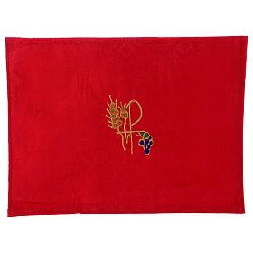 Valigia celebrazioni interno foderato Jacquard rosso pannello portaoggetti estraibile s7