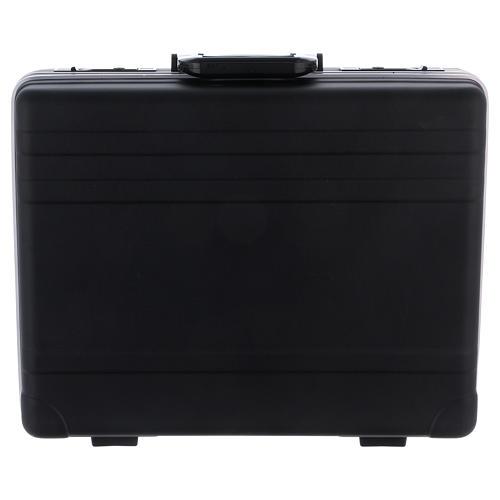 Valigia set da messa in plastica interno raso rosso 7