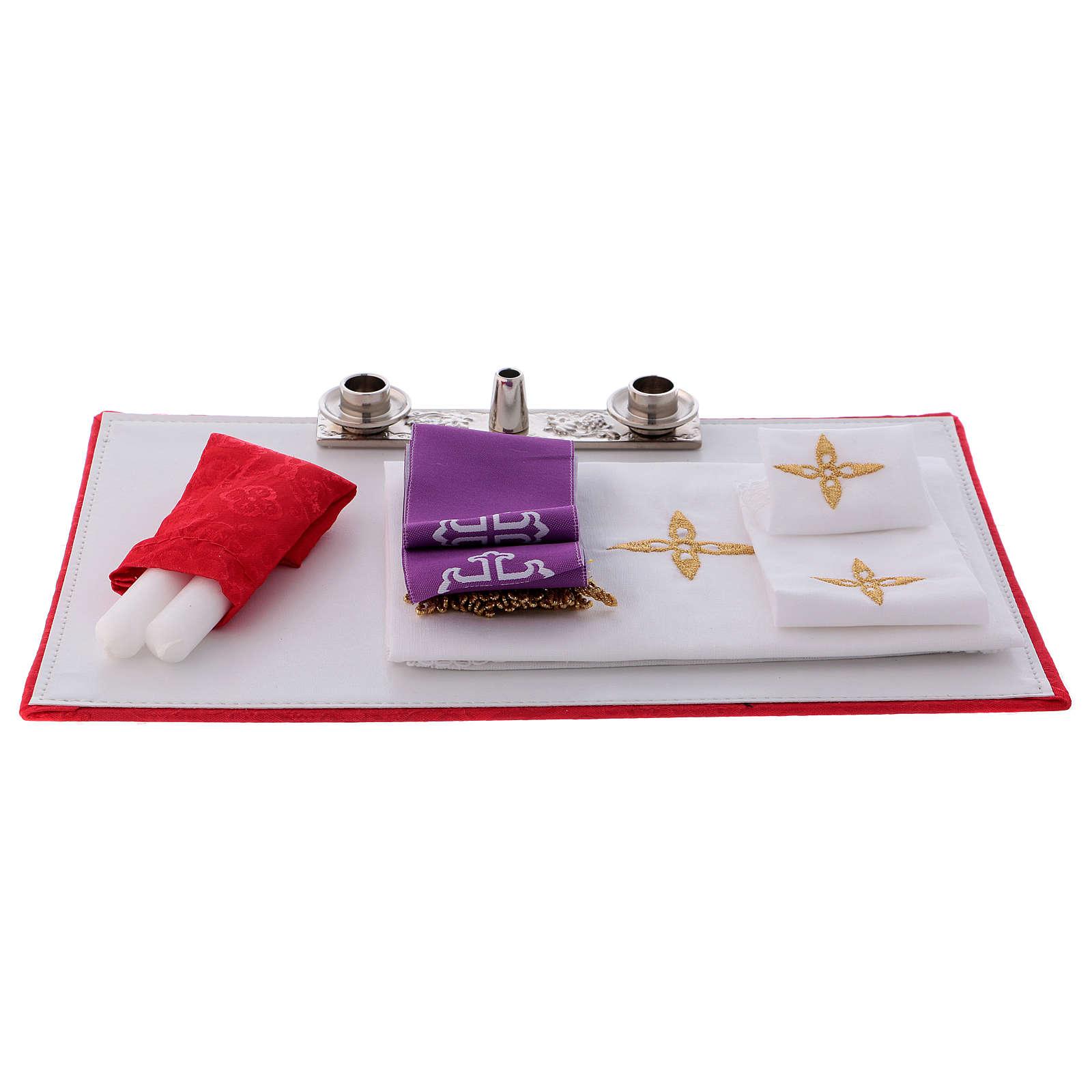 Borsa mod. portacomputer in eco pelle con tracolla interno rosso 3