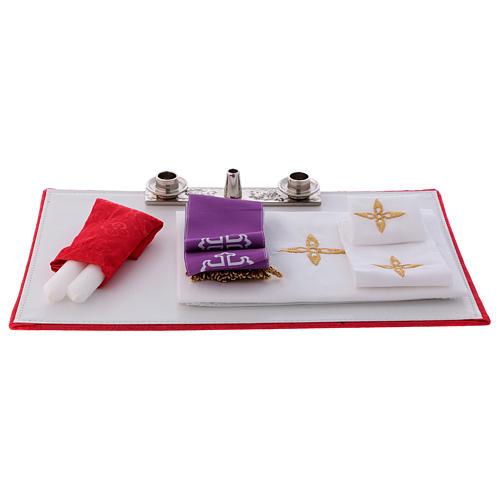 Borsa mod. portacomputer in eco pelle con tracolla interno rosso 4