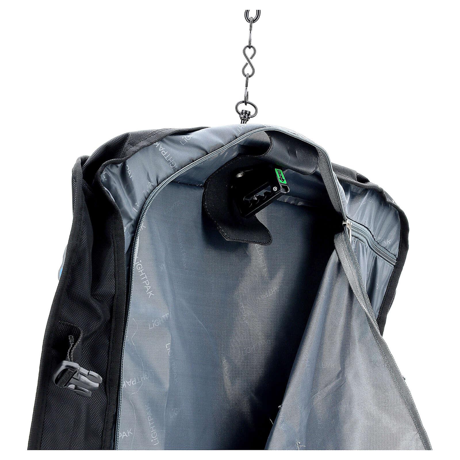 Borsa celebrazione porta abiti tessuto con tracolla 3
