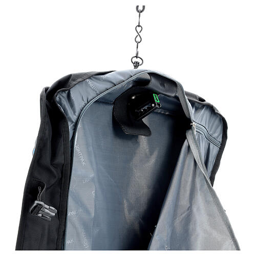 Borsa celebrazione porta abiti tessuto con tracolla 5