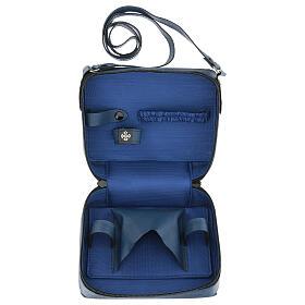 Bolso para Celebración cuero azul con bandolera s8