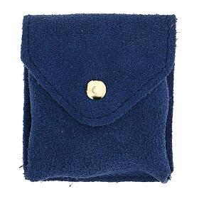 Estuche para viático azul ante relicario placa Sagrada Familia s4