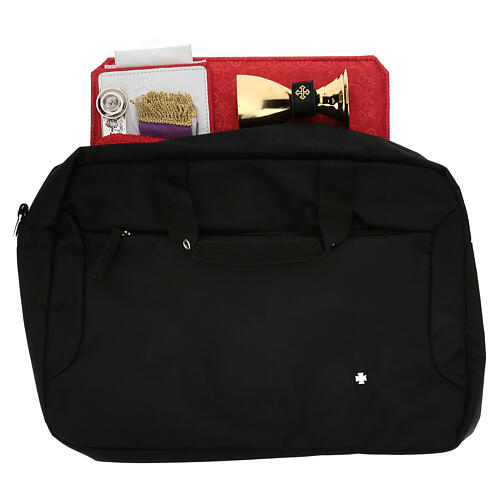 Computer bag with travel mass kit 1