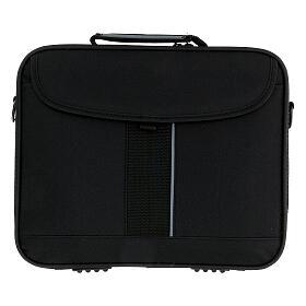 Mini bolso para ordenador para celebración con jacquard azul s11
