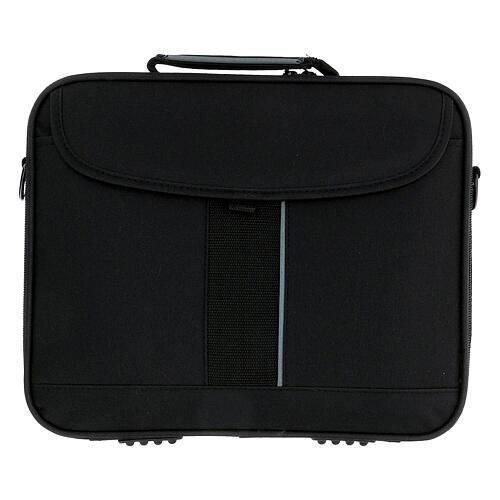 Mini borsa porta computer per celebrazione con jacquard blu 11