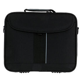 Mini computer bag with mass kit and blue jacquard lining s11