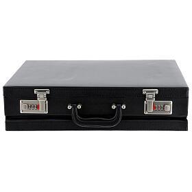 Valise modèle attaché-case pour célébration jacquard rouge s8