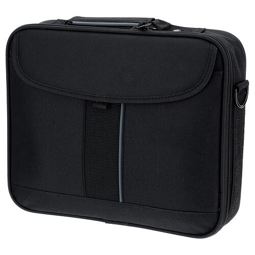 Small computer bag with Mass kit, grey fabric 11
