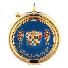 Bolsa tiracolo para celebração litúrgica interior tecido jacquard vermelho s4