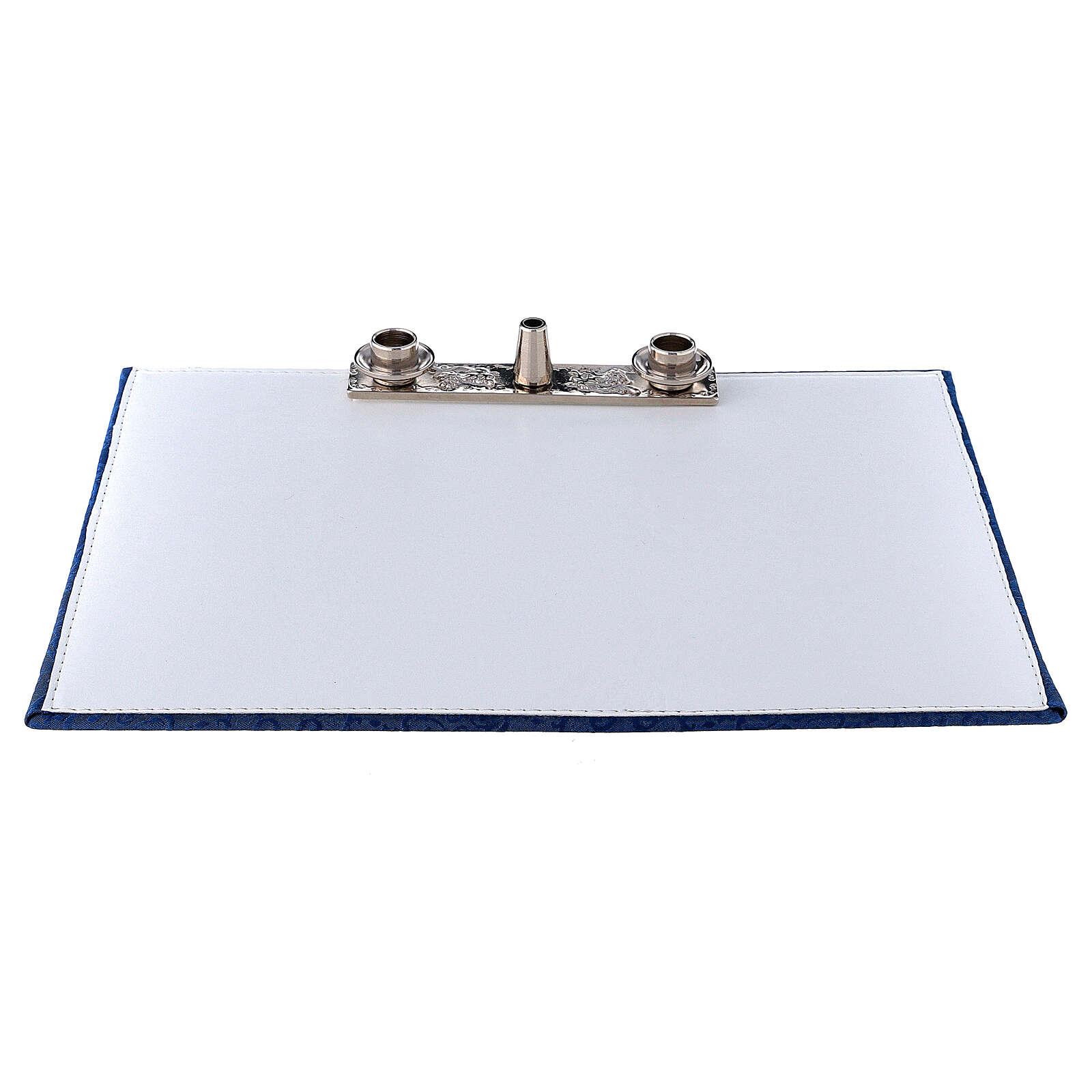 Mass kit bag with blue Jacquard lining 3