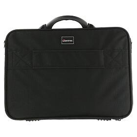 Mass kit bag with blue Jacquard lining s13