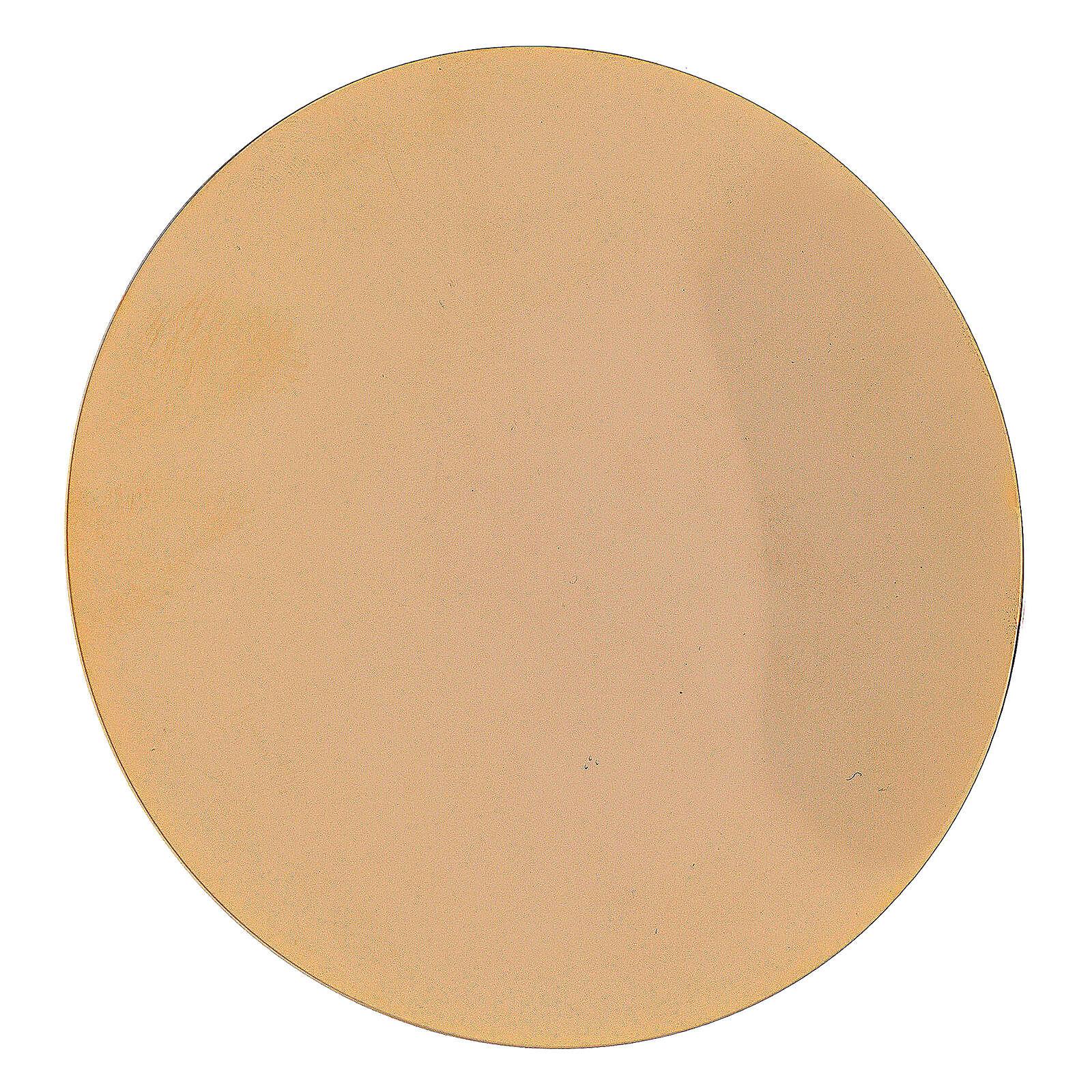Valigetta per celebrazione in abs con interno in jacquard giallo 3