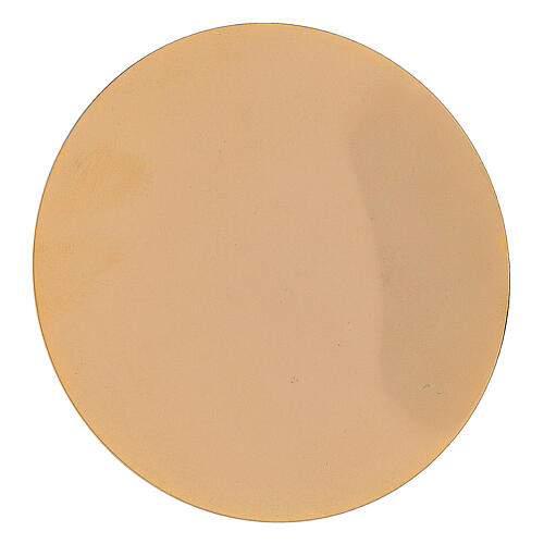 Maleta de abs con interior amarillo adamascado 6
