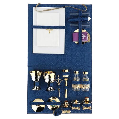 Maleta kit celebración de abs y raso azul 3