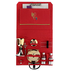 ABS briefcase with silk and embroidery s3