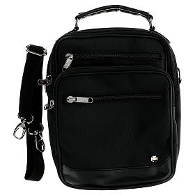 Shoulder bag for mass kit in technical fabric and silk s2