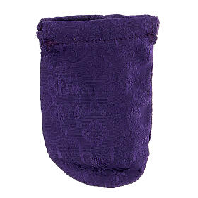Sacchetto porta teca violain jacquard teca 8 cm s6