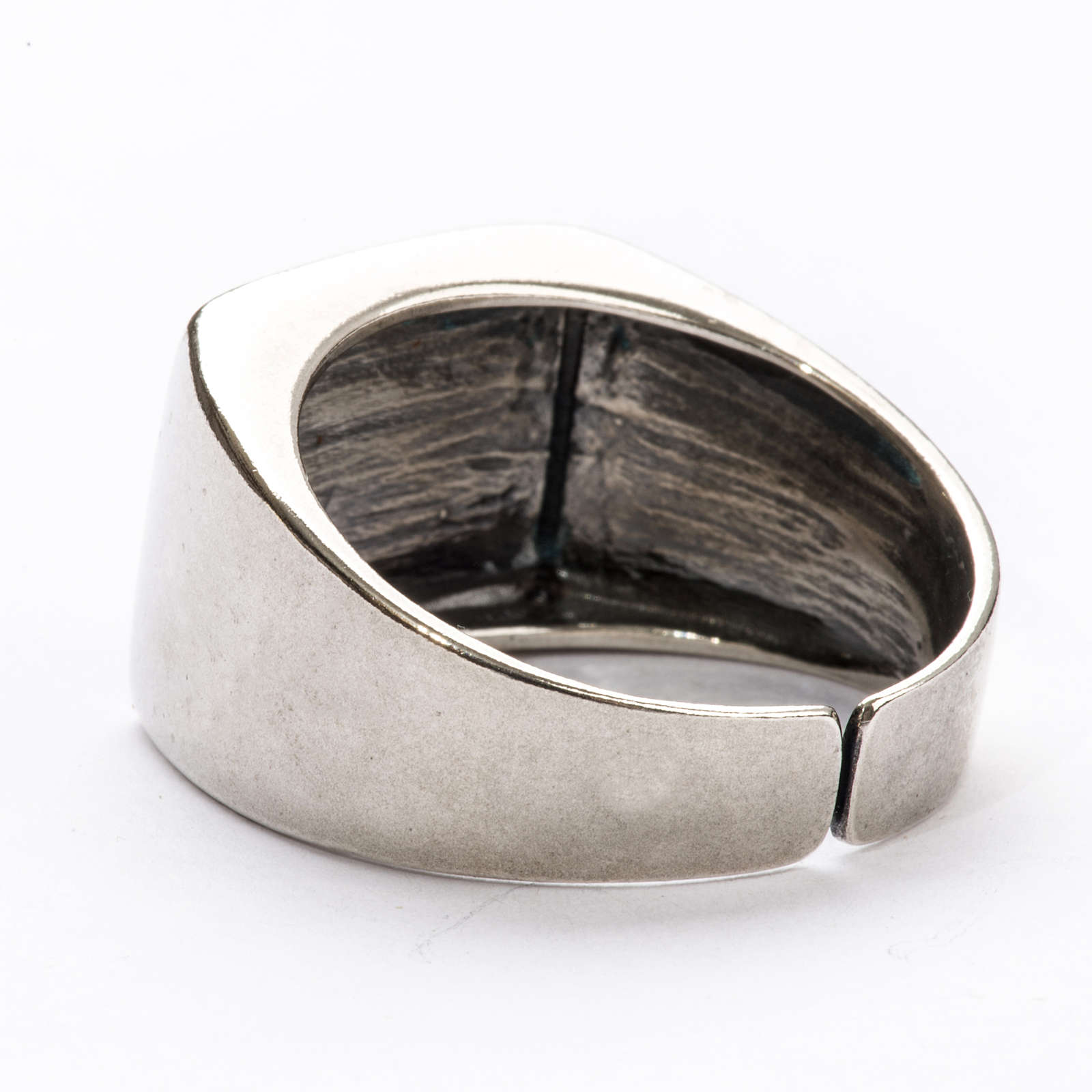 Bishop Ring in silver 925, lamb 3