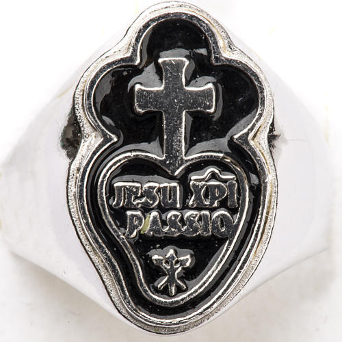 Anillo obispal  de plata 925, Jesu Xpi Passio 4