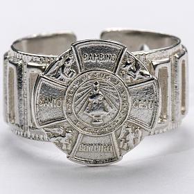 Bishop's Ring made of silver 925, Baby Jesus s3