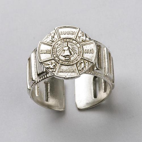 Bishop's Ring made of silver 925, Baby Jesus 5