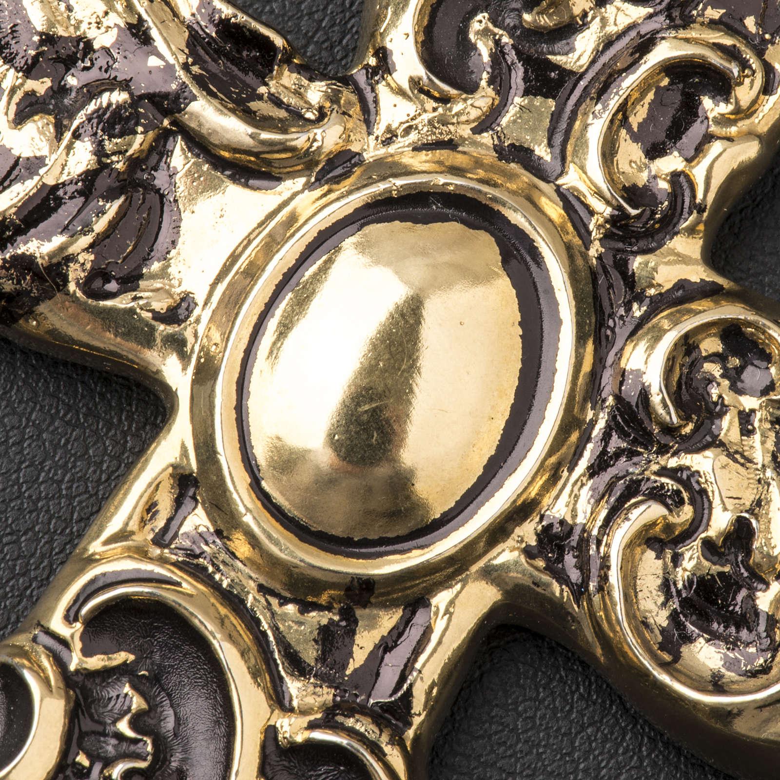 Croix pectorale en argent 800 bronzé 3