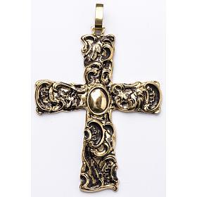 Croix pectorale en argent 800 bronzé s1