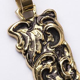 Croix pectorale en argent 800 bronzé s2
