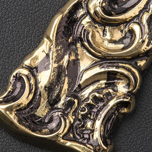 Croix pectorale en argent 800 bronzé 4