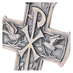 Pectoral Cross made of silver 925, Chi-Rho s2