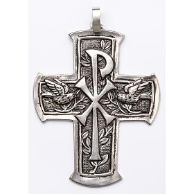 Croce pettorale argento 800 XP s1