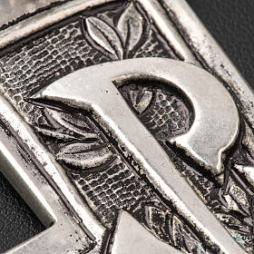 Croce pettorale argento 800 XP s5