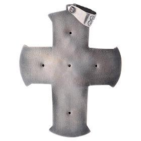 Croce pettorale argento 925 XP s3