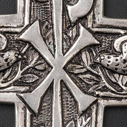 Croce pettorale argento 800 XP 4